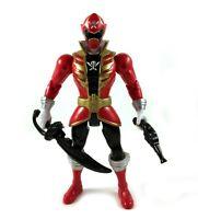 "Red Ranger Power Rangers Super Megaforce 5"" Action Figure Complete 2013 Bandai"