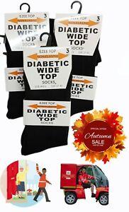 Women's Diabetic Socks Wide top Diabetic & Circulatory loss Fit NON Elastic