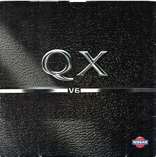 Nissan QX Maxima 1994-95 UK Market Preview Foldout Sales Brochure 2.0 3.0 V6