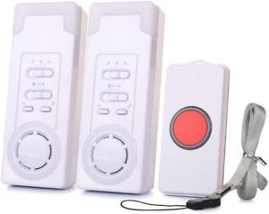 Mobiler Alarm Notruf Knopf Funk Senioren Krankenpflege Hausnotruf Pflege