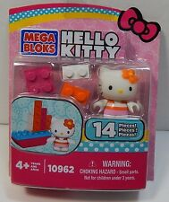 Mega Bloks Hello Kitty Boat 14 Pieces 10962 Includes Figure New