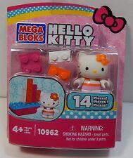 Mega Bloks Hello Kitty Boat 14 Pieces 10962 Includes Figure New