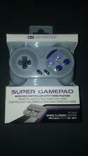 NEW My Arcade Super Gamepad Wireless Controller For SNES Classic Wii Wii U NIB