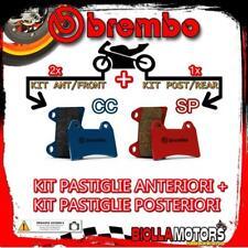 BRPADS-39912 KIT PASTIGLIE FRENO BREMBO BIMOTA DB 1 1990- 1000CC [CC+SP] ANT + P