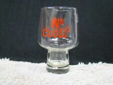 Coors Logoed Beer/Barware Glass, Clear with Red Writing, Collectible Home Decor