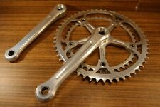1980's double cransket Campagnolo Record Strada  53/42 T 170 mm made in Italy
