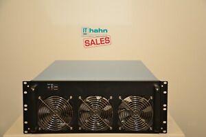 "6-8 GPU/Grafikkarten - Mining/Server Gehäuse Rack 19"" 4HE 4U inkl. 6x Lüfter NEU"