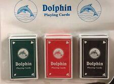 3 confezioni di carte da gioco POKER GAMES Snap Trucco Magico