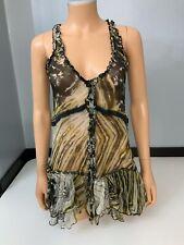all saints spitalfields Blouse Sleeveless Top Size 38 Uk 10 Vgc Shirt Women's