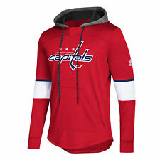 9bbd9e2a6 adidas Washington Capitals Red Platinum Jersey Pullover Hoodie