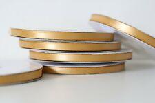 "Gold Polyester Satin Ribbon 1/4"" 50 yds"