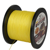 500M PE Braided Fishing Line 4 Strands Multifilament Super Strong Saltwater Line