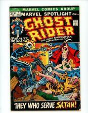 Marvel Spotlight #7 1972 VG 3rd Ghost Rider app Marvel Comic Key MCU