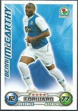 TOPPS MATCH ATTAX 2008-09-BLACKBURN ROVERS & SOUTH AFRICA-BENNI McCARTHY