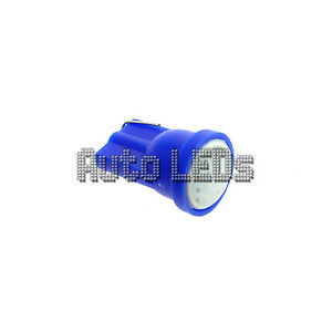 1 Blue COB LED T10 Wedge 12v Interior LED Bulb