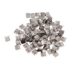 Lot de 100 Clés USB Type A Standard Connecteur Prise Jack Femelle à Souder