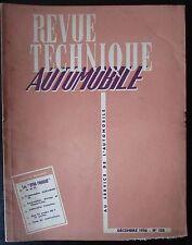 ANCIENNE REVUE TECHNIQUE AUTOMOBILE N° 128  de 1956 DYNA PANHARD 1956 / 1957