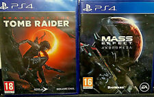 SHADOW OF THE TOMB RAIDER PS4 + MASS EFFECT ANDROMEDA PS4