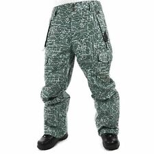 Ride Cappel Wallingford Pants Mens Snowboard Ski 15k Waterproof Green S $280