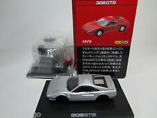 KYOSHO 1/64 MINICAR COLLECTION KIT 2 FERRARI 308GTB 308 GTB SILVER ONLY JAPAN
