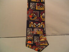 Looney Tunes Tie,Taz  Bugs 1997 Warner Bros. US Postal Stamps -2 ties for price