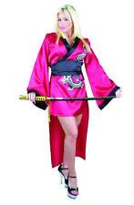RED GEISHA GIRL LARGE 11-13 ADULT HALLOWEEN COSTUME