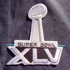 Super Bowl Superbowl 45 XLV Patch Green Bay Packers vs Pittsburgh Steelers