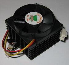 Socket 370 CPU Cooler - Celeron and AMD-K6 Fan and Heatsink - 12V - 50 mm Fan