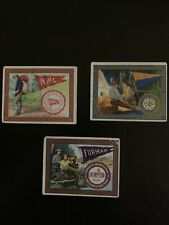 """New listing Murad College Series T51 Card Lot (3) """"Camping� Penn College, Nwc, Furman 1910"""