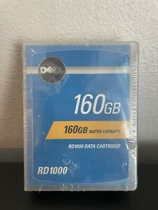 Dell 160GB RD1000 data cartridge new in sealed orginal package