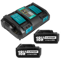 18V 5.0Ah Li-ion Battery & Charger Combo for Makita BL1850B DC18RD BL1860 DC18RC