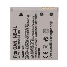 1400 mAh NB-4L Battery for Canon IS IXUS I ZOOM IXUS i7 SD96 ca