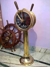 Ship Engine Order Telegraph Nautical Brass Decorative Collectible 43 Inch