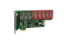 OpenVox A800E35 8 Port Analog PCI-E Base card + 3 FXS + 5 FXO, Ethernet (RJ45)