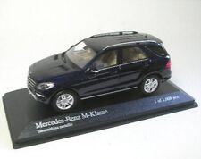 Mercedes-Benz classe-M (bleu tanzanite) 2011