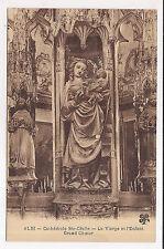 albi ,cathédrale ste-cécile, la vierge et l'enfant , grand choeur