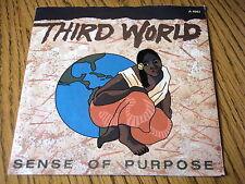 "THIRD WORLD - SENSE OF PURPOSE  7"" VINYL PS"