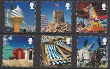 Great Britain 2007 Beside the Seaside Stamp Set