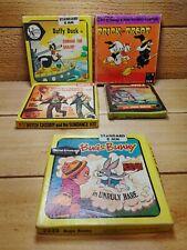 Vintage Disney 8mm Film Reel Lot Super 8 Daffy Duck Trick Treat Butch Cassidy