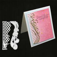Stanzschablone Karo Hintergrund Rebe Weihnachten Geburtstag Hochzeit Karte Album