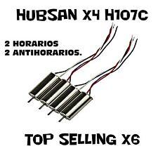 JUEGO DE 4 MOTORES PARA DRONE HUBSAN X4 H107C / TOP SELLING X6.