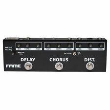 Fame Effektgerät Gitarre, Multieffektgerät, Multieffekt Pedal E-Gitarre mit Dist
