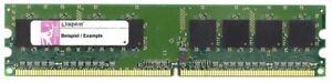 1GB Kingston DDR2 Desktop RAM Memory PC2-6400 800MHz CL5 Dim 240-pin KFJ2890/1G
