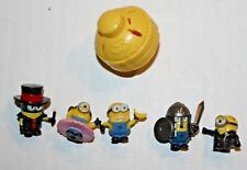 Monopoly Despicable Me Board Game Exclusive Lot of 5 Minion Tokens & Spinner