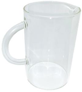 Kinto Blue Bottle Coffee Carafe Clear Glass Pitcher Tea Expresso 18 fl oz 550 mL