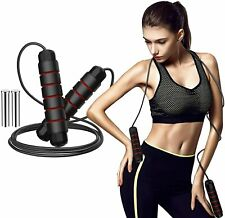 Weighted Jump Rope 1Lb Adjustable Solid Pvc Heavy Jump Rope for Fitness Training