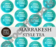 Dolce Gusto Marrakesh Style Tea Pods 100 Capsules 100 Drinks Sold Loose