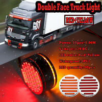 Truck Trailer Tractor 98 LED Red Amber Double Face Stop Tail Side Marker   HL
