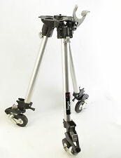 Manfrotto Bogen 3156 Folding Tripod Dolly with Heavy Duty Legs and Caster Wheels