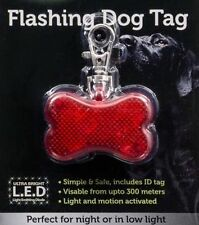 Plastic Reflective Dog Tags & Charms